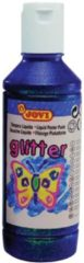 Paarse Jovi Plakkaatverf Glitter flacon van 250 ml paars
