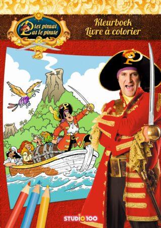 Afbeelding van Studio 100 Kleurboek Piet Piraat boot