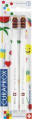 Witte Curaprox - 5460 Ultra Soft Duo Pack Pop Art Edition - Velmi jemný zubní kartáček