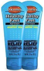 O'Keeffe's - Voetencreme, voor gezonde voeten - allergische huid - 85ml- 2 pak