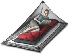 Zwarte Sea to Summit Nano Mosquito Net Single Muggennet - klamboe - Eenpersoons - 82g