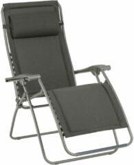 Grijze Lafuma RSX CLIP Gepolsterd - Relaxstoel - Verstelbaar - Inklapbaar - Zero Gravity - Ardoise