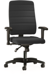 Prosedia by Interstuhl Prosedia bureaustoel Yourope 3 - Hoge rugleuning - Zwart