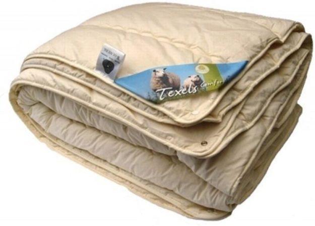Afbeelding van Texellent Texels Comfort Wol 4-Seizoenen Dekbed - 100% Wol - Litsjumeaux - 240x220 cm