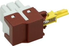 Zanussi-electrolux Tastenschalter 1-fach für Waschmaschinen 1249271105
