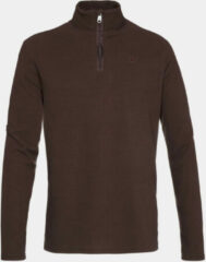 Protest Perfecto 1/4 Zip Skipully Donkerbruin