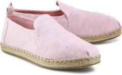 Rosa TOMS Women's Deconstructed Alpargata Chambray Espadrilles - Blossom - UK 7 - Pink