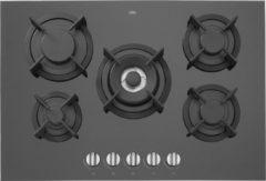 ETNA KGG673ZTA - Inbouw gaskookplaat - Zwart glas