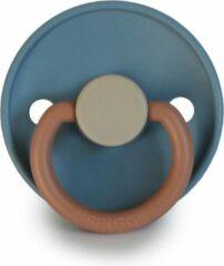 FRIGG Fopspeen Color maat 2 - 6-18 maanden - Breeze - Natuurrubber