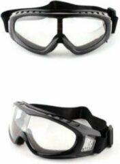 Sitna Ski & Snowboard Bril - Volwassenen - Masker - Transparant - Doorzichtig - Wintersport