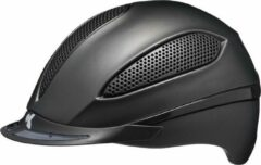 Zwarte Paso M black matt KED cap met hoofdomtrek: 52-58 cm