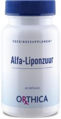 Orthica Alfa Liponzuur (Voedingssuplement) - 60 Capsules