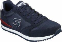 Skechers Sunlite Waltan Heren Sneakers - Blauw - Maat 45