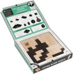 Asmodee Einstein Albert's Letter Blocks Puzzle - EN