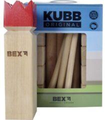 Engelhart Bex Sport Original Kubb Rode Koning - Rubberhout