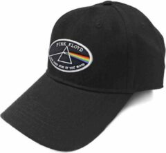 Rock Off Pink Floyd Baseball pet The Dark Side Of The Moon White Border Zwart