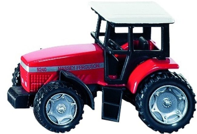 Afbeelding van Siku Massey Ferguson tractor rood 7.5 cm (0847)
