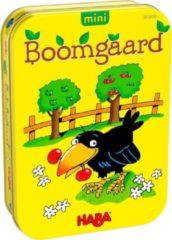 Gele Haba minispel Boomgaard (NL)