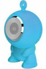 Zwarte Conceptronic CSPKBTWPHFB Wireless Bluetooth Waterproof Speaker [180-16KHz IPX5, USB 400mA, Blue]