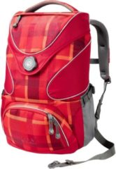 Jack Wolfskin Kids Schulrucksack Ramson Top 20 Pack Jack Wolfskin 7941 indian red woven check