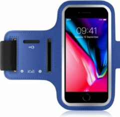 Sport Armband Sportband Hardlopen voor iPhone 8 / 7 / 6 / 6s / 5 / 5s / SE / 5c / Samsung Galaxy A5 (2017) - Blauw