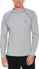Zilveren Coolibar - UV-zwemshirt lange mouwen heren - Mercury grijs