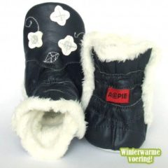 Aapie Winterboot Flower Marine White