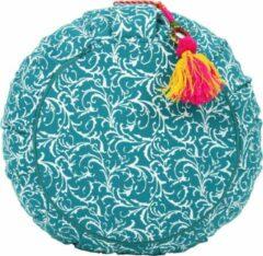 Lotus Meditatiekussen - Raja - turquoise