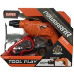 Oranje Veltman Speelgoed Gereedschap Boormachine