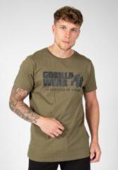 Gorilla Wear Classic T-shirt - Legergroen - 2XL