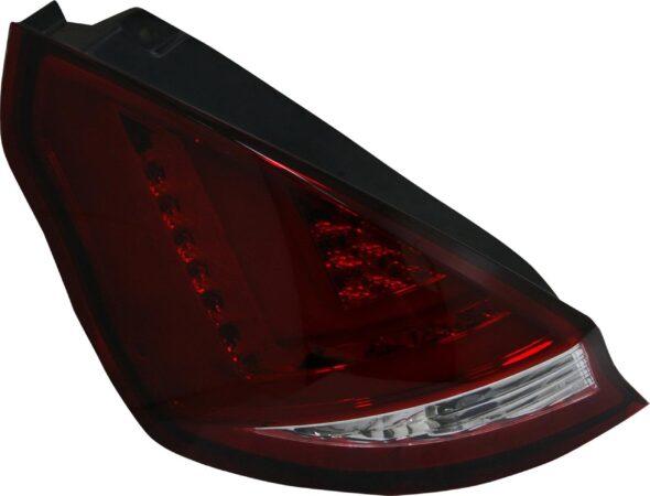 Afbeelding van Universeel Set LED Achterlichten Ford Fiësta VII 3/5-deurs 2008-2012 - Rood/Helder