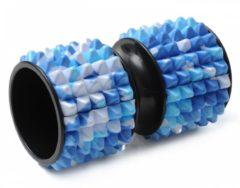 Faszienrolle Small - Camouflage Yogistar blue