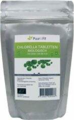 Puur&Fit Chlorella Tabletten Biologisch 500 mg - 500 tabletten - 250 gram