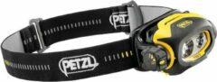 Petzl E78CHB 2 Hoofdlamp PIXA 3 voor EX-zones: 2, 22 LED INERIS10ATEX3015 Standard > 19.5 h · High > 39 h · Low > 16.5 h Geel-zwart