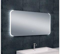 Saqu Spiegel met LED 120x60 cm