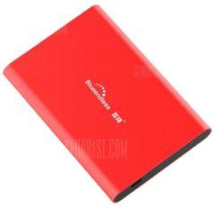 """GearBest """"Blueendless T80 USB 3.0 2.5 inch Hard Drive Hard Disk - 320GB Red"""""""