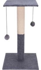 Blauwe Cats Katten krabpaal - 60cm - inclusief speelballen