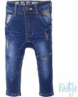 Blauwe Feetje! Jongens Lange Broek - Maat 62 - Denim - Jeans