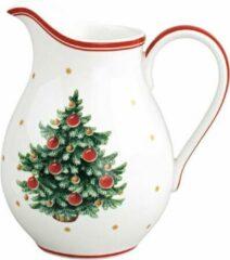Gebroken-witte Villeroy & Boch Toy's Delight Kerst melkkan 14 cm
