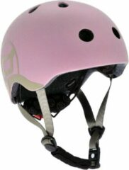Roze Scoot & Ride Scoot and Ride Kinderhelm Rose - Maat xxs-s