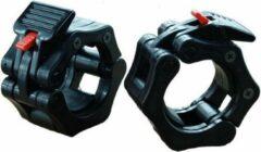 Zwarte Olympic Lock Focus Fitness - Jaw Collar set