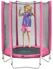 Plum Junior trampoline incl. veiligheidsnet roze 140 cm - Trampoline