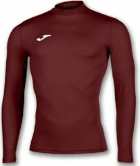 Bordeauxrode Joma Academy Shirt Opstaande Kraag Kinderen - Bordeaux   Maat: 128-140