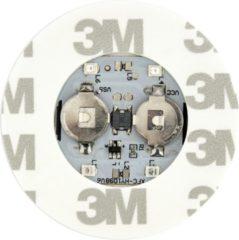 Groenovatie LED Sticker - Feestlamp Voor Fles - 60 mm - Blauw