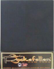Gloria Rockefeller Hoeslaken Satijn - Tweepersoons - 160x200 cm - Zwart