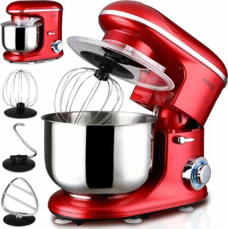 Afbeelding van Deuba Keukenmachine Elegance Rood 1200W 6L