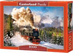 Castorland Puzzel Stoomtrein - 1000 Stukjes