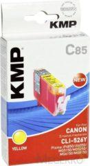 KMP Inkt vervangt Canon CLI-526 Compatibel Geel C85 1515,0009