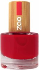 Rode ZAO essence of nature ZAO Nagellak 650 (Carmin Red)