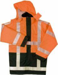 Marineblauwe Safeworker Parka vlamvertagend antistatisch SW Humber RWS oranje/marine L